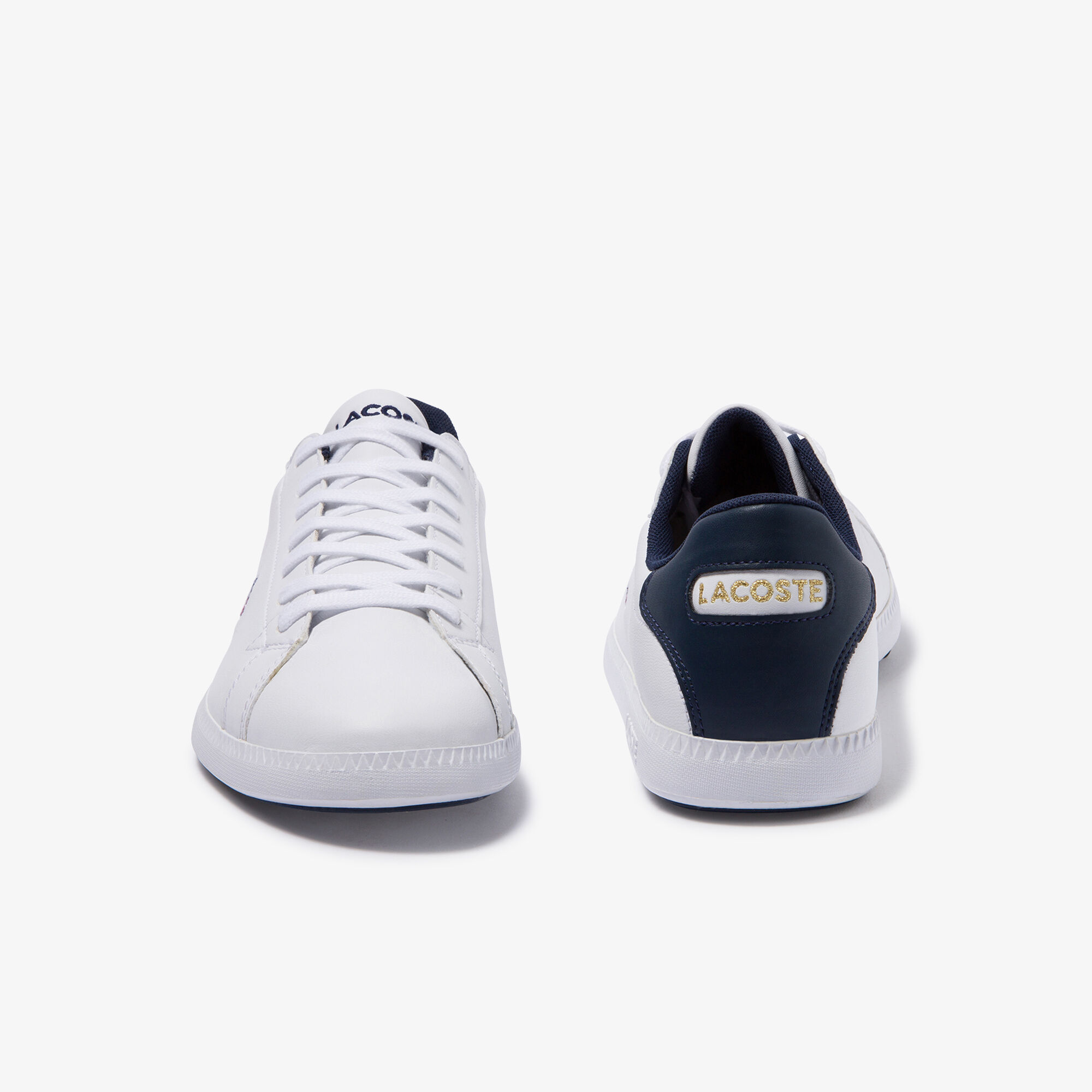 Men's Graduate Tricolore Leather and Synthetic Trainers