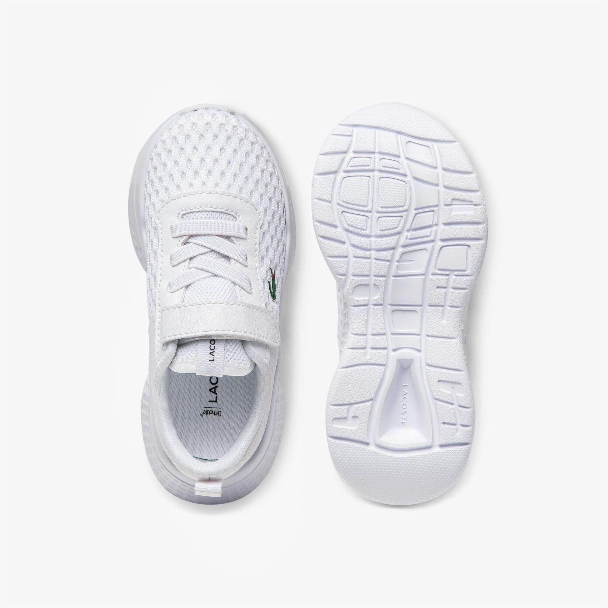 حذاء رياضي من النسيج المحبوك المرن والشبكي مجموعة Court-Drive للأطفال الرضع