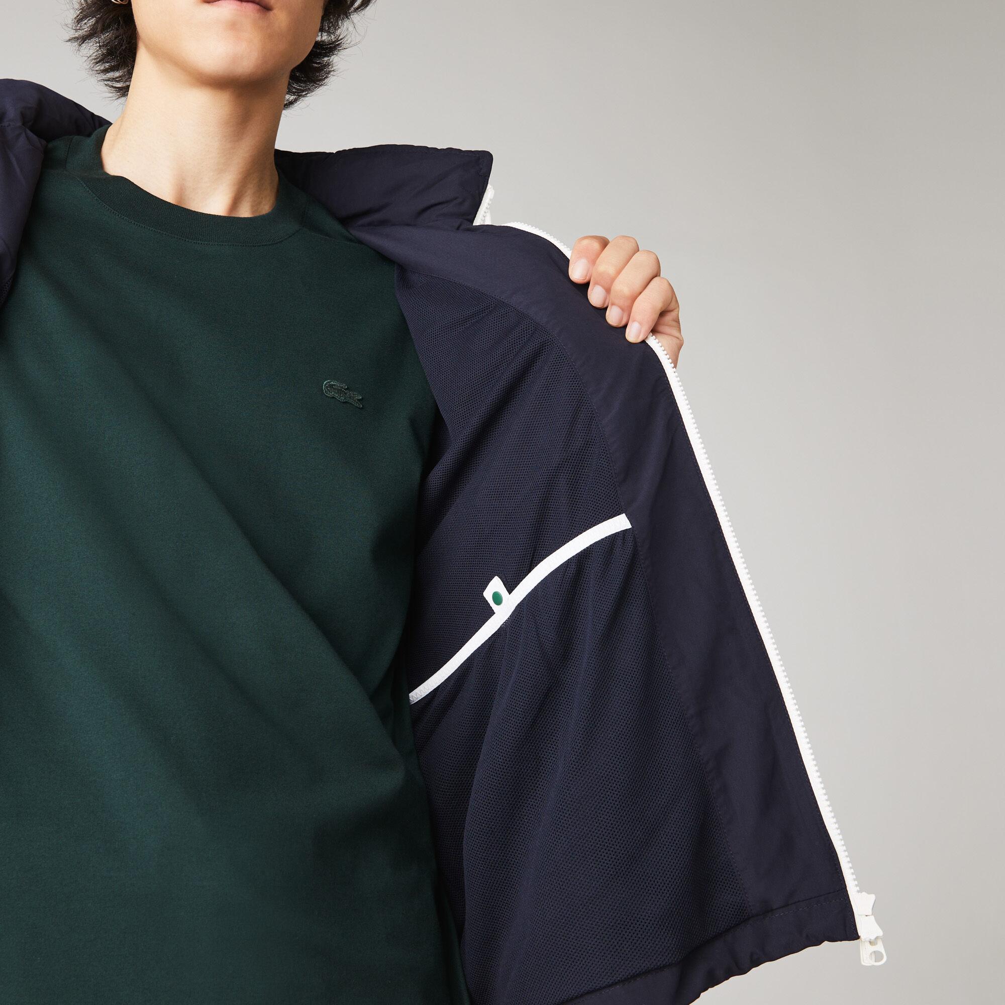 Men's Lightweight Water-Resistant Hooded Windbreaker
