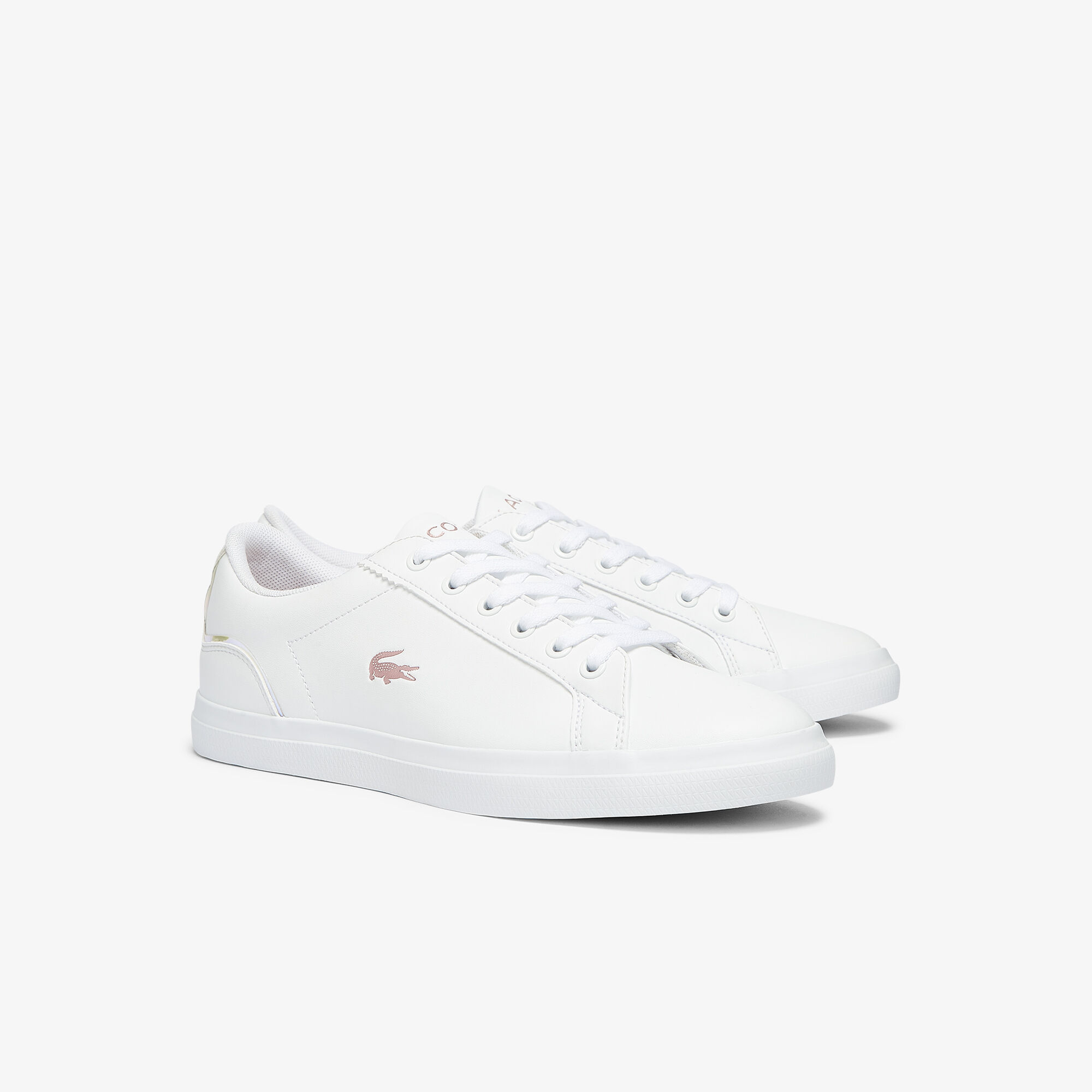 Juniors' Lerond Synthetic Iridescent Trainers
