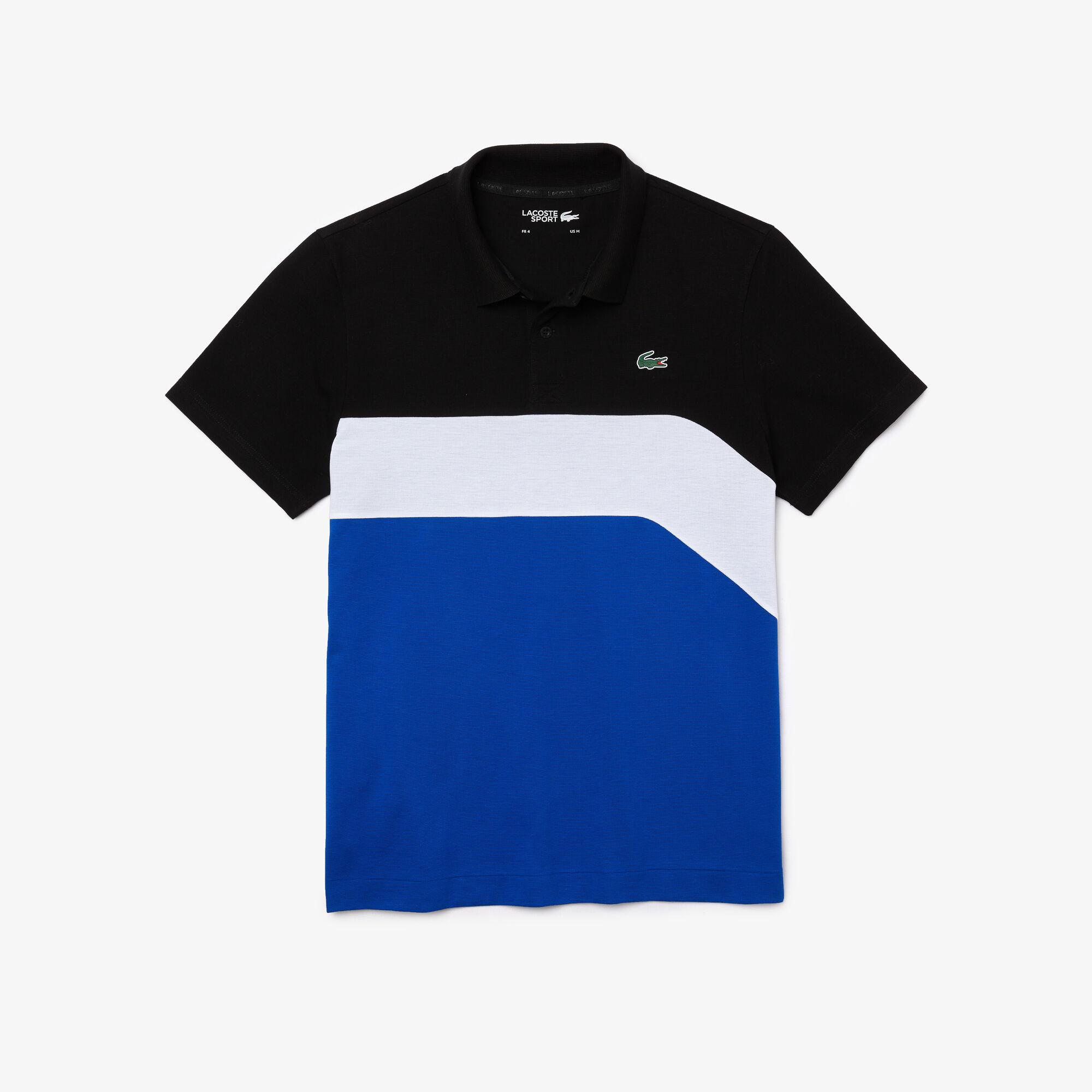 Men's Lacoste SPORT Ultra-Light Colourblock Tennis Polo Shirt