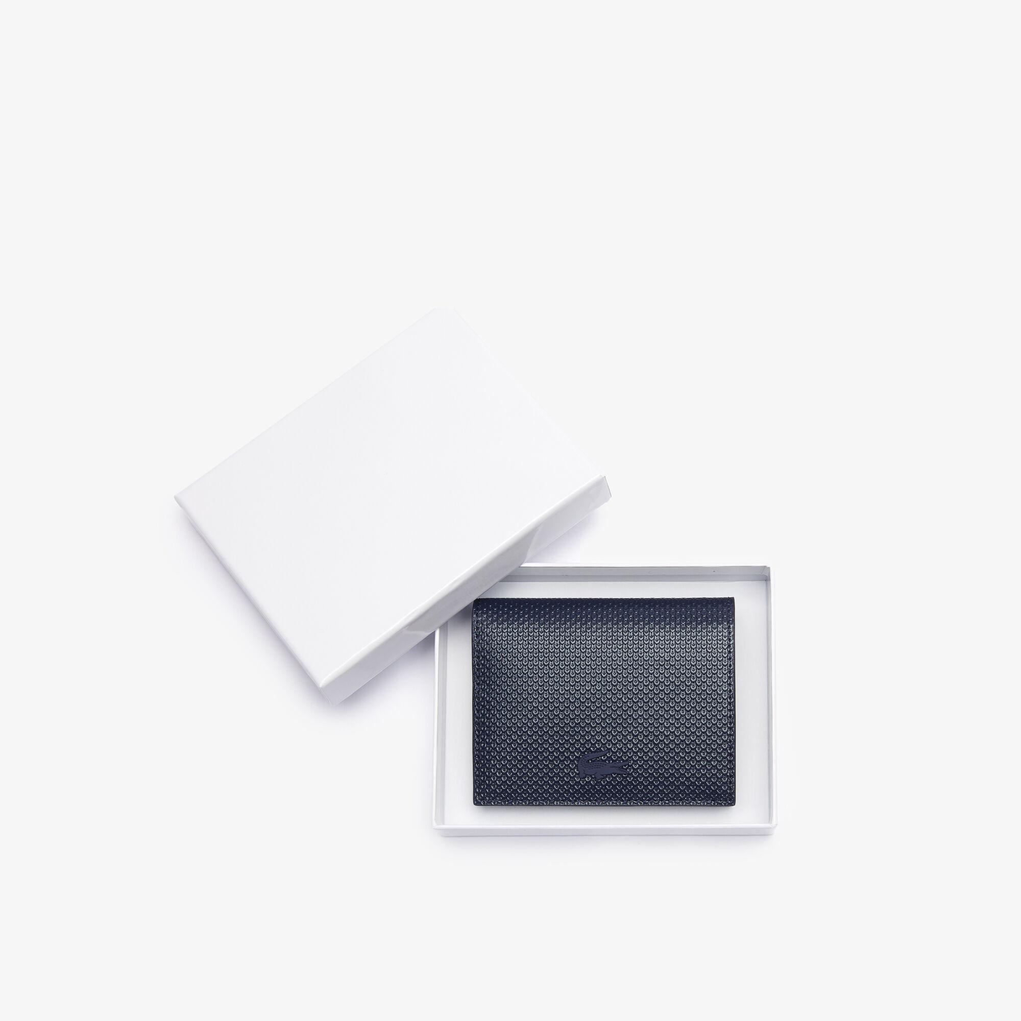 محفظة صغيرة بكبسون من جلد البيكيه مجموعة Chantaco للنساء