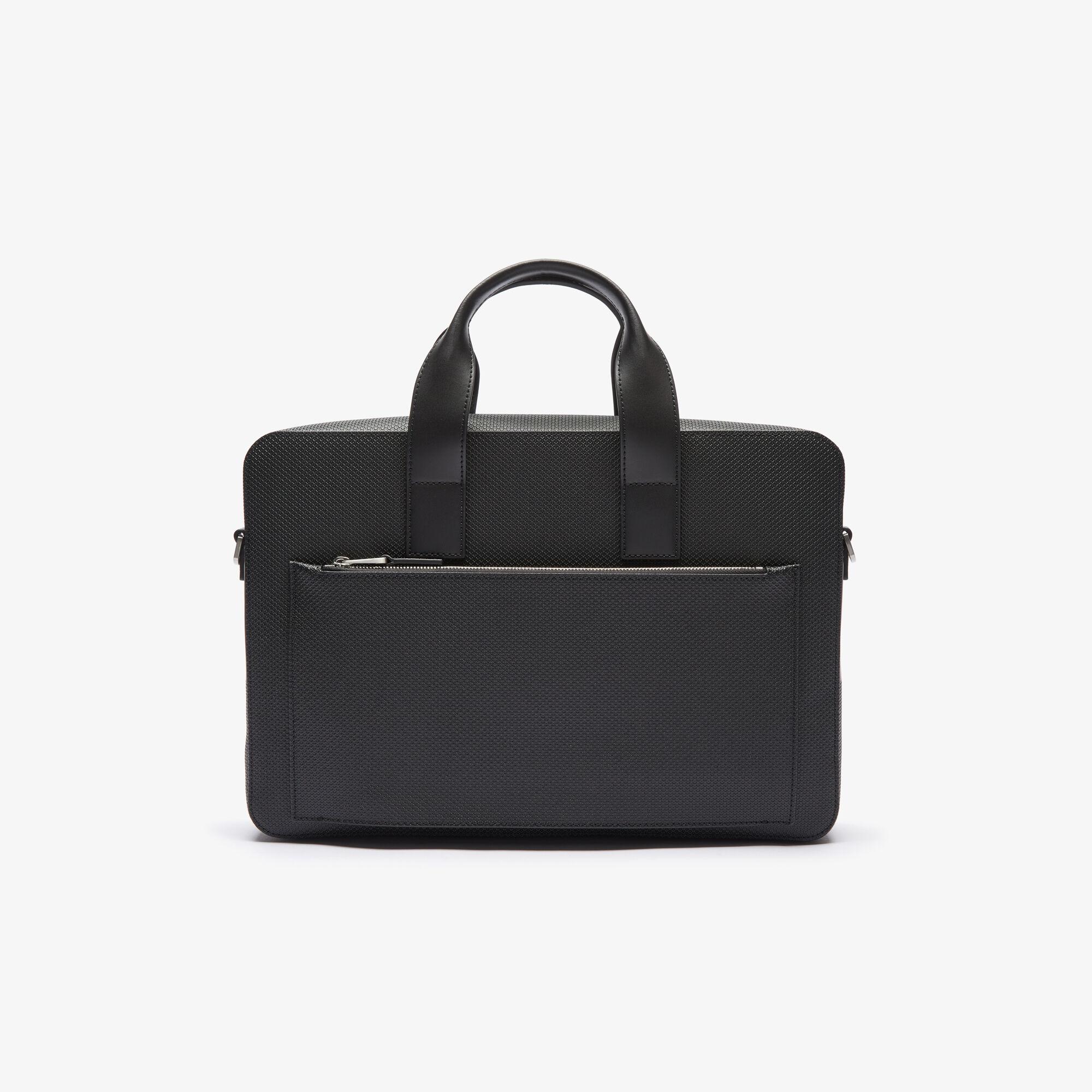 حقيبة كمبيوتر من جلد البيكيه غير اللامع مجموعة Chantaco للرجال