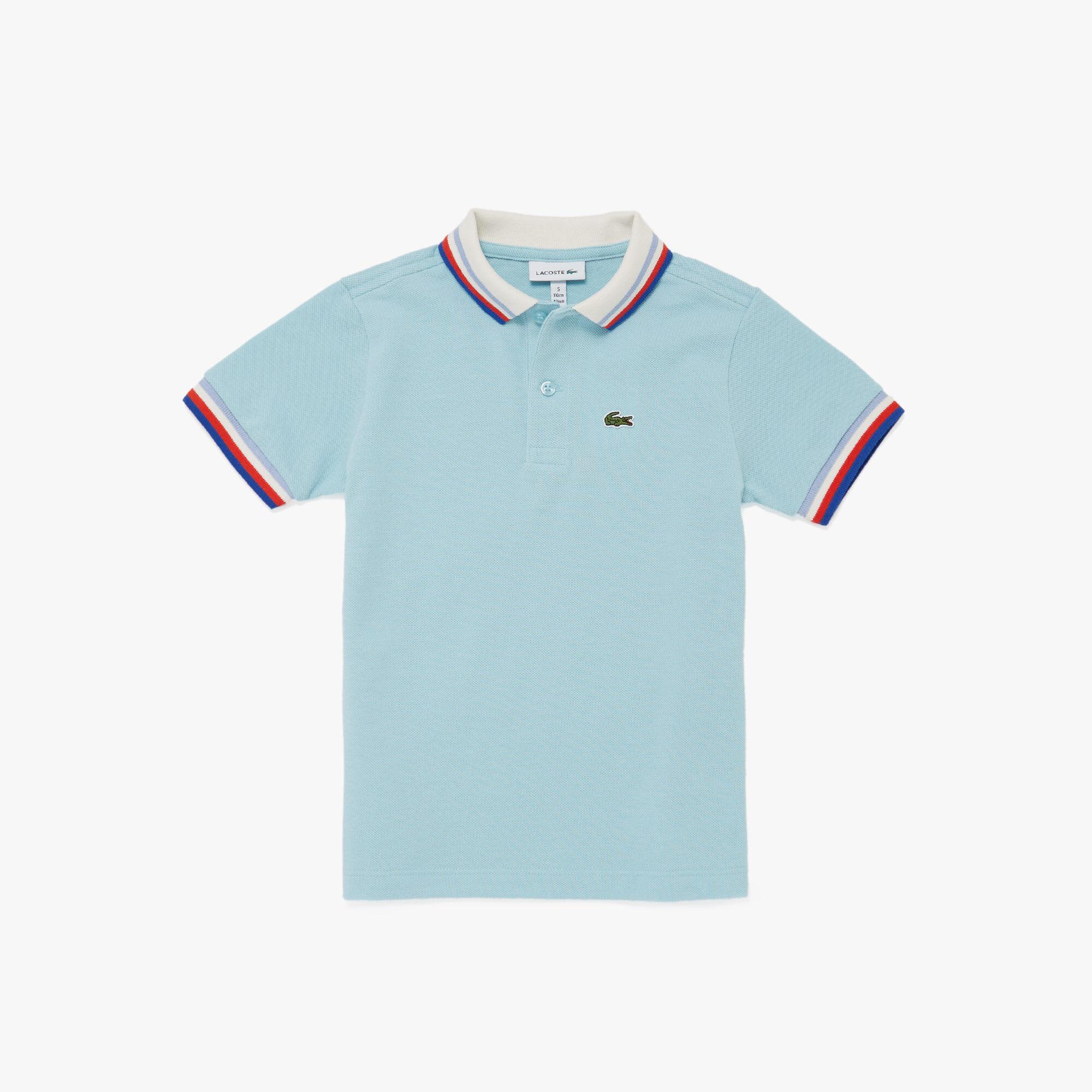 Boy's Lacoste Heritage Cotton Polo Shirt