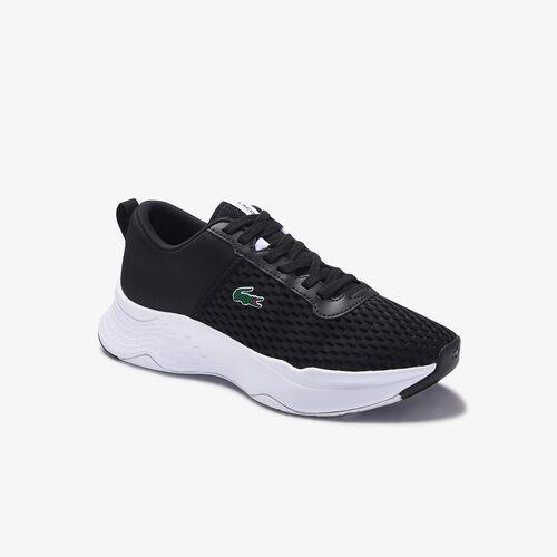 حذاء رياضي من النسيج المحبوك المرن والشبكي مجموعة Court-drive للصغار