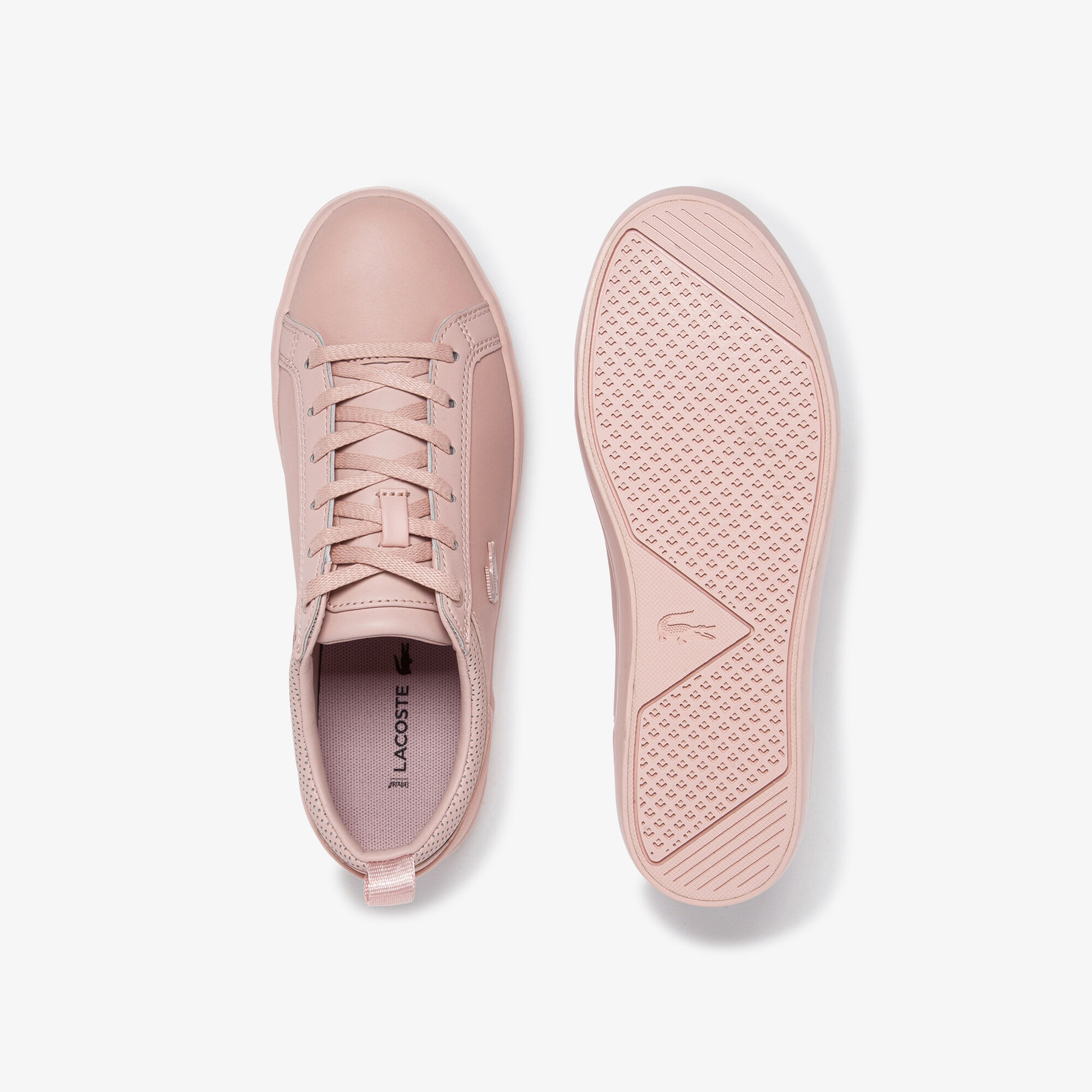 Women's Straightset Leather and Synthetic Sneakers