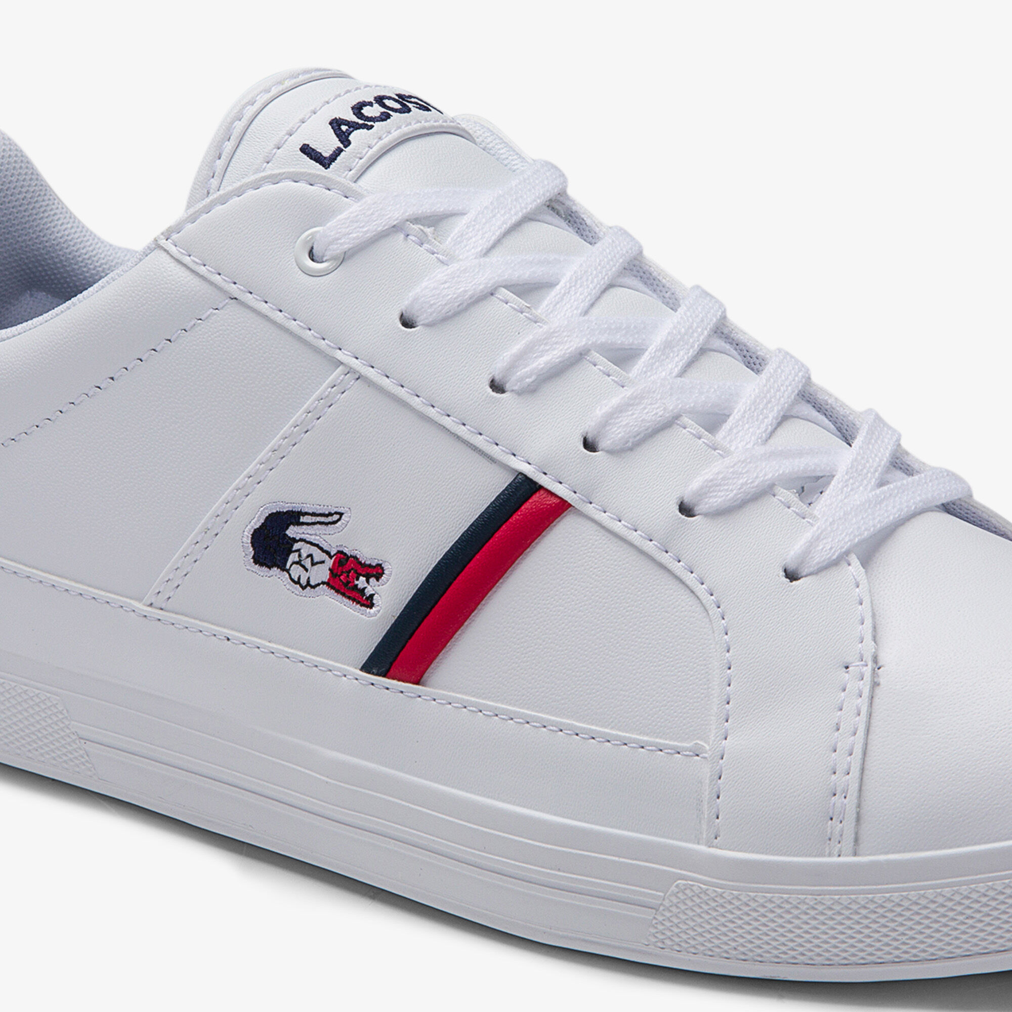 Men's Europa Tricolore Leather and Synthetic Sneakers