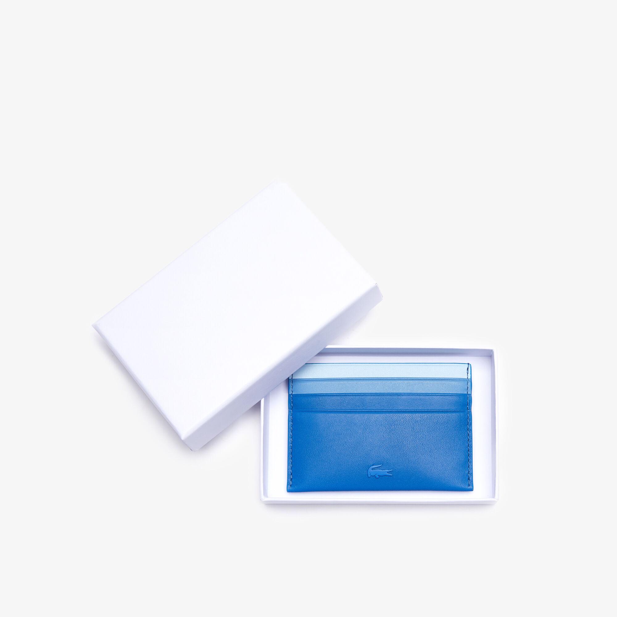 حافظة بطاقات من الجلد المتدرج مجموعة Fitzgerald للرجال