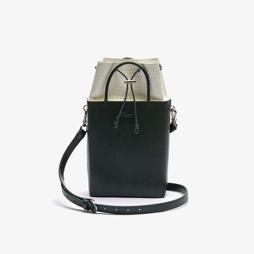 حقيبة بوكيت مستطيلية من جلد البيكيه مجموعة Chantaco للنساء