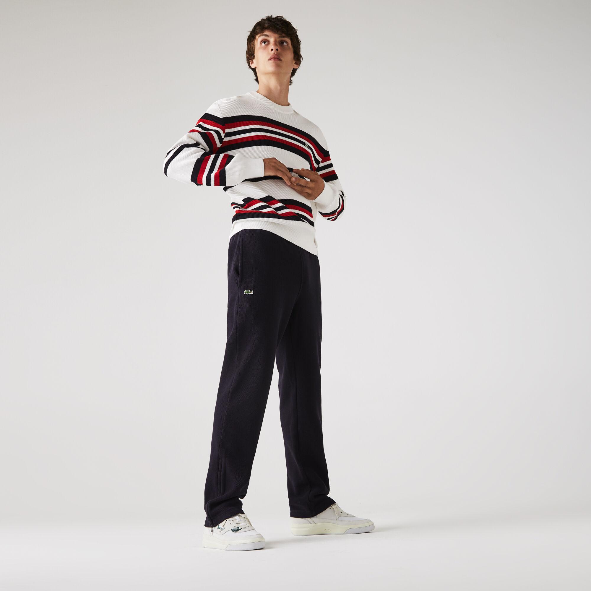 Men's Organic Cotton Piqué jogging pants