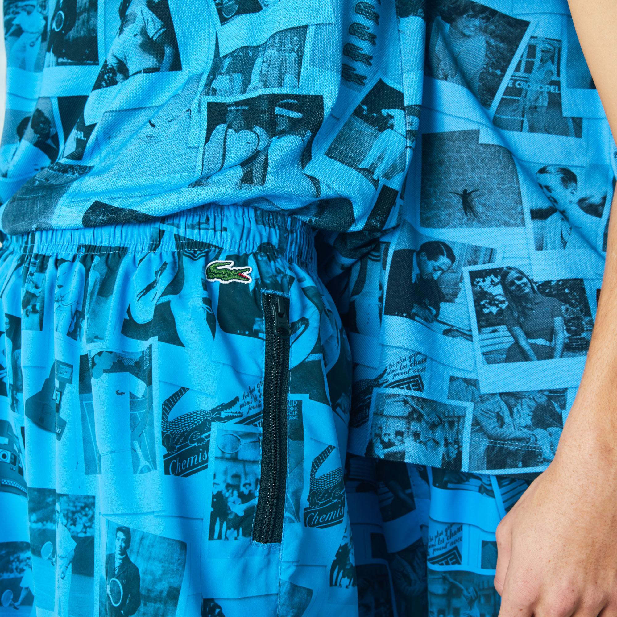 بنطال رياضي للجنسين من مجموعة Lacoste LIVE و Polaroid