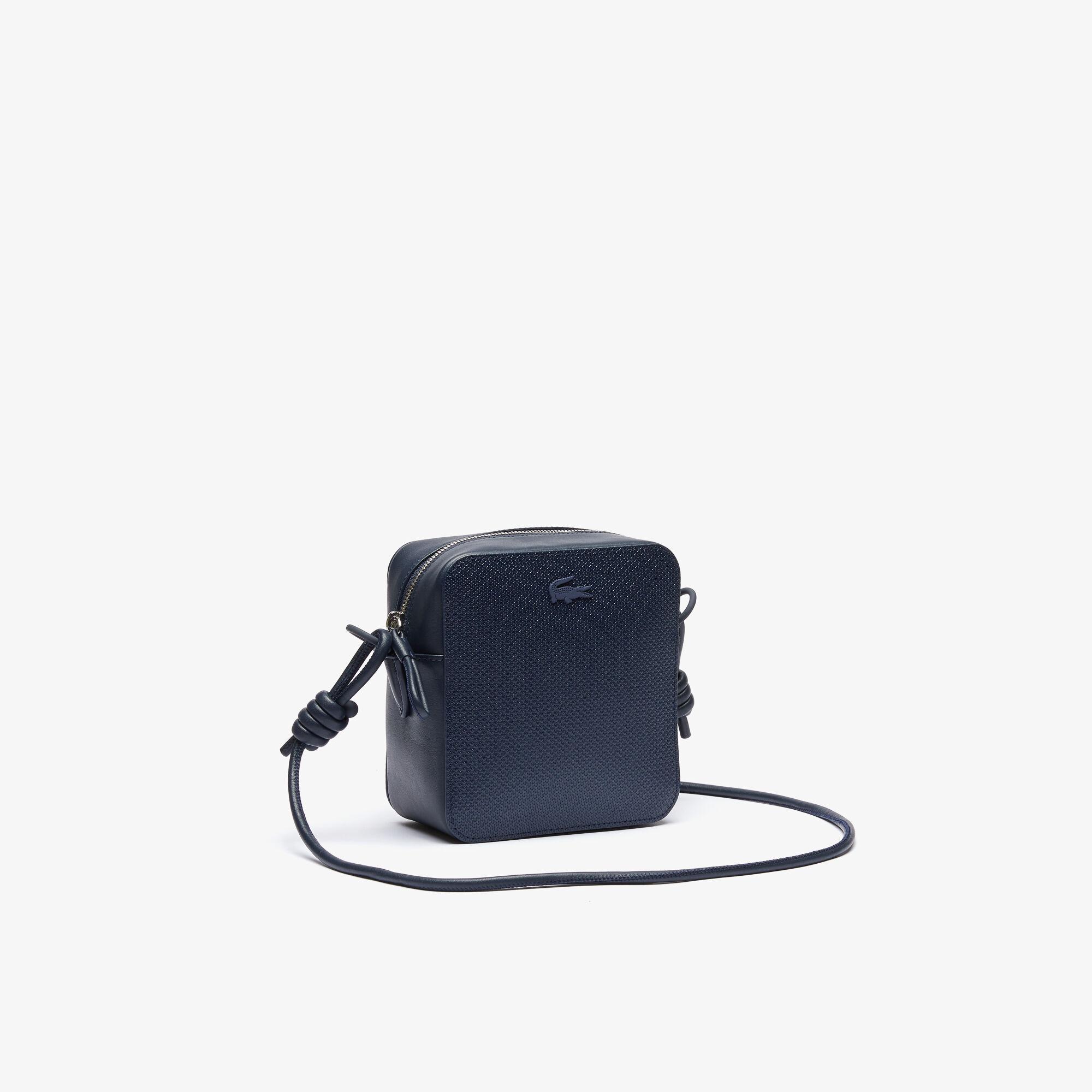 Women's Chantaco Small Matte Piqué Leather Square Shoulder Bag