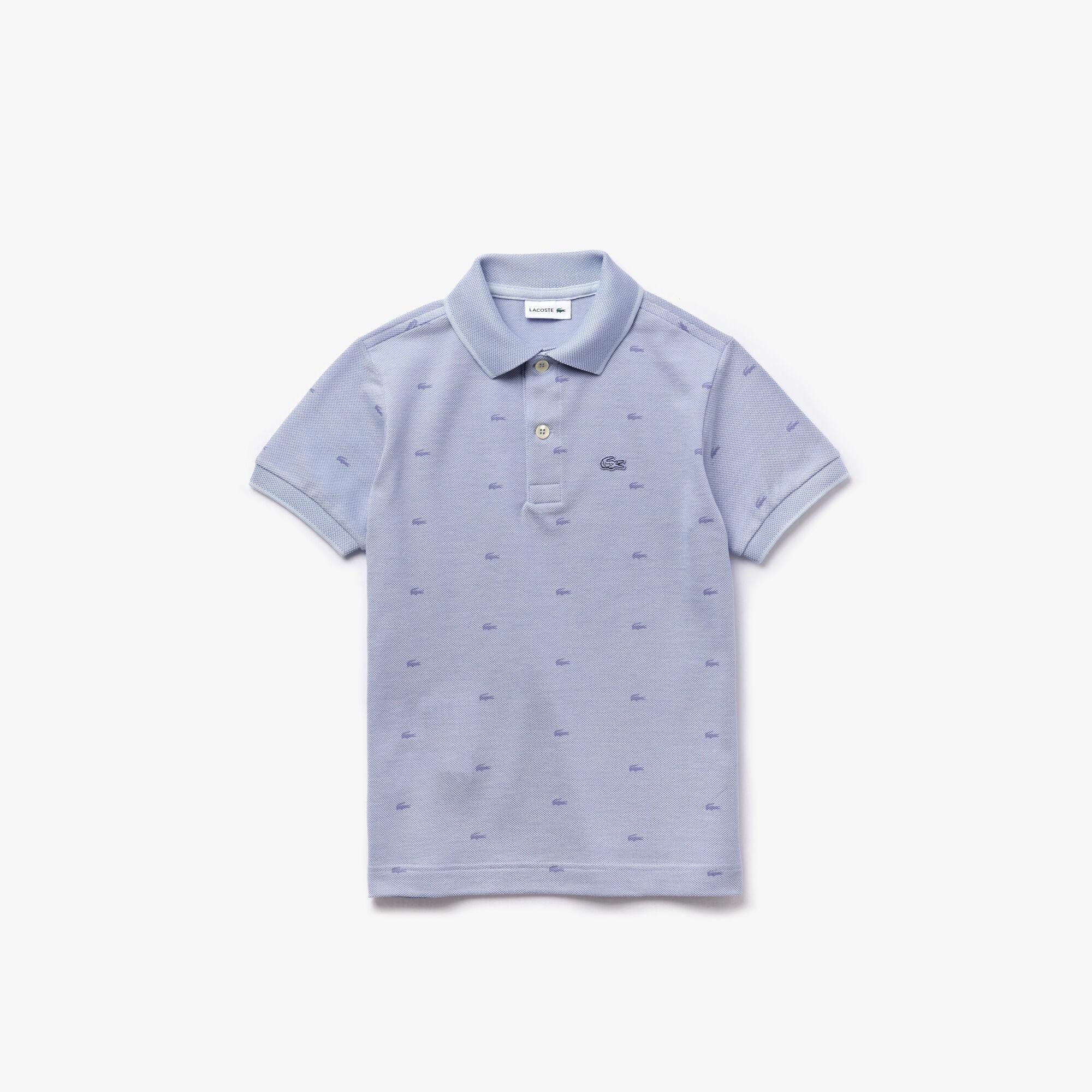 قميص بولو بطبعة Lacoste للصبيان