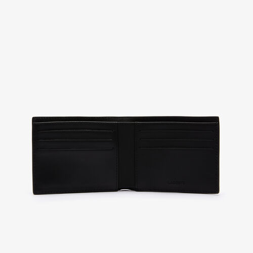 محفظة بطاقات جلد مع ست فتحات مجموعة Fitzgerald للرجال