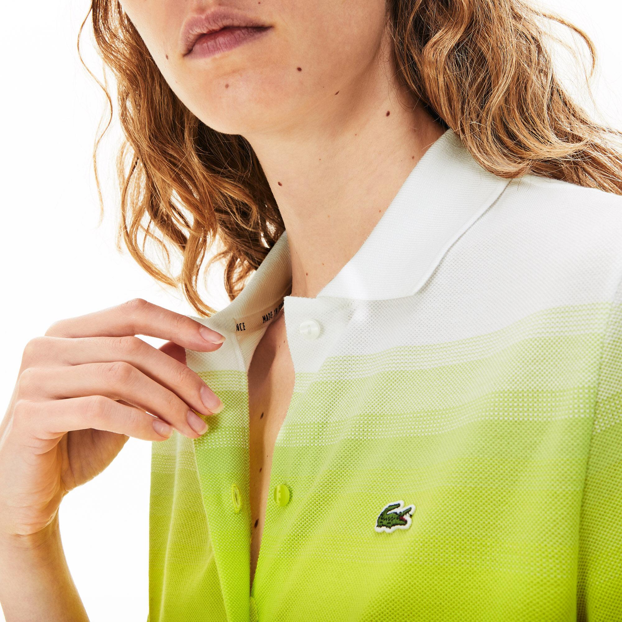 فستان بولو من قطن بيكيه من مجموعة Made in France للسيدات