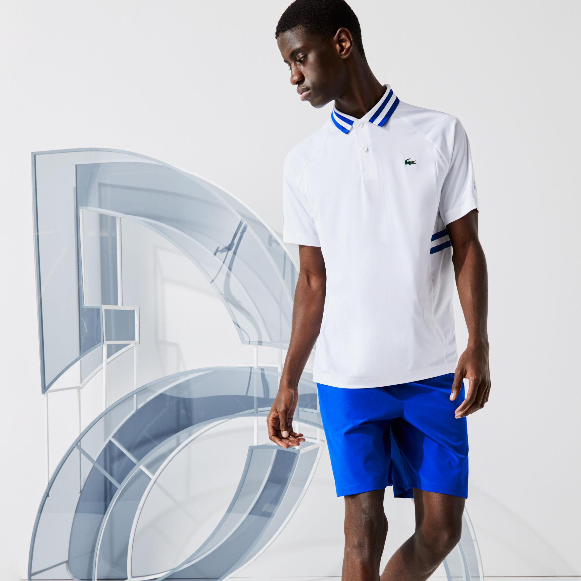 Men's Lacoste SPORT x Novak Djokovic Breathable Ultra-Dry Polo Shirt