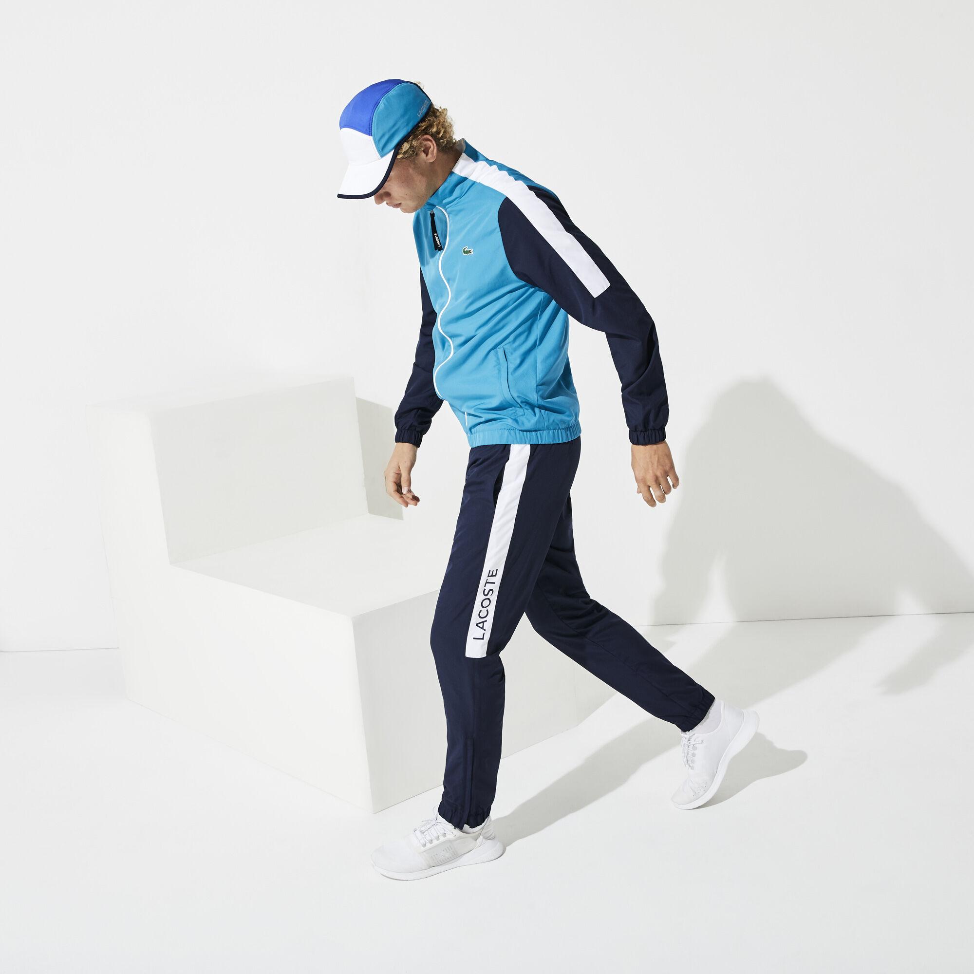 بذلة رياضية خفيفة بألوان متعددة للرجال من مجموعة Lacoste SPORT