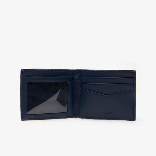 محفظة بطاقات من جلد البيكيه مع 3 فتحات مجموعة Chantaco للرجال
