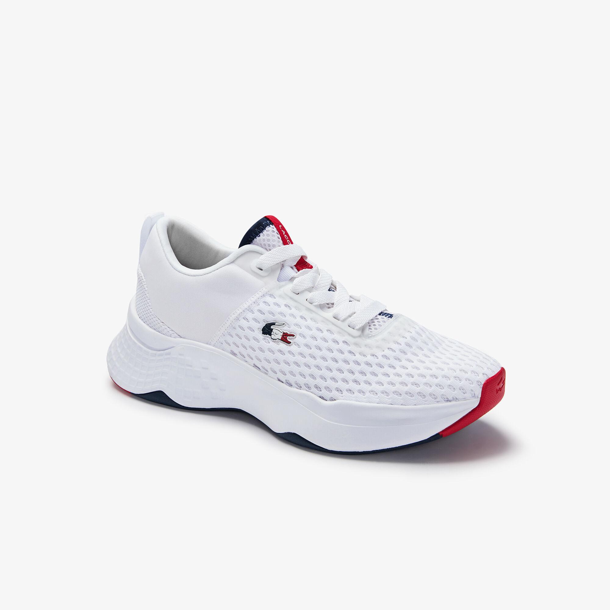 حذاء رياضي من القماش بألوان ثلاثية مجموعة Court-Drive للنساء