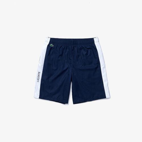 Men's Lacoste Sport Contrast Bands Lightweight Shorts