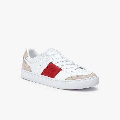 حذاء رياضي للرجال من الجلد والشمواه من مجموعة Courtline