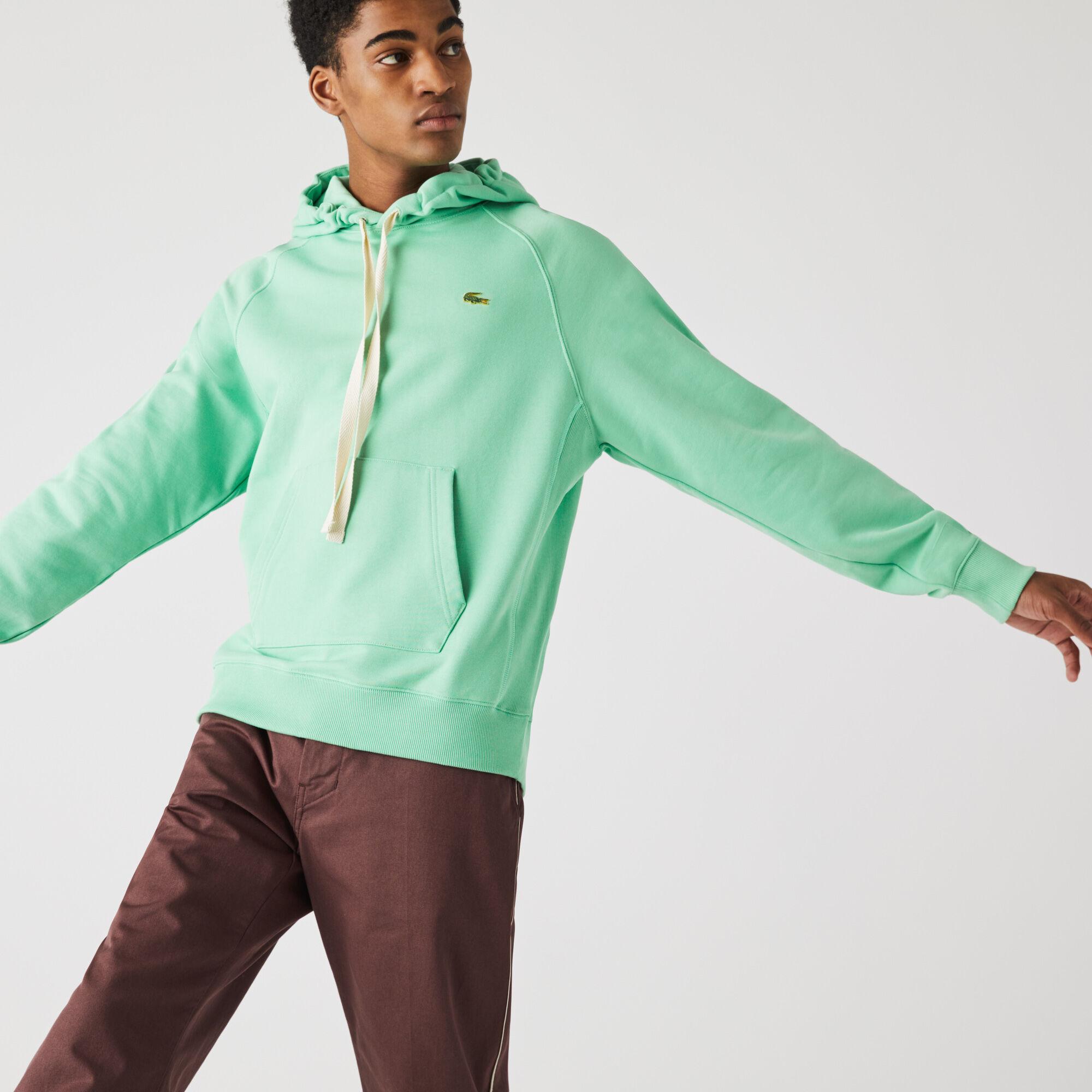 Unisex Lacoste LIVE Hooded Cotton Sweatshirt