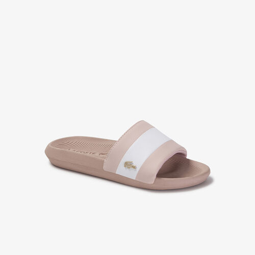 Women's Croco Metallic Pu Slides