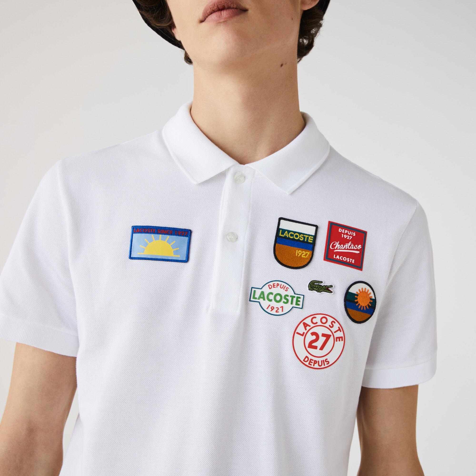 Men's Lacoste Regular Fit Badge Cotton Polo