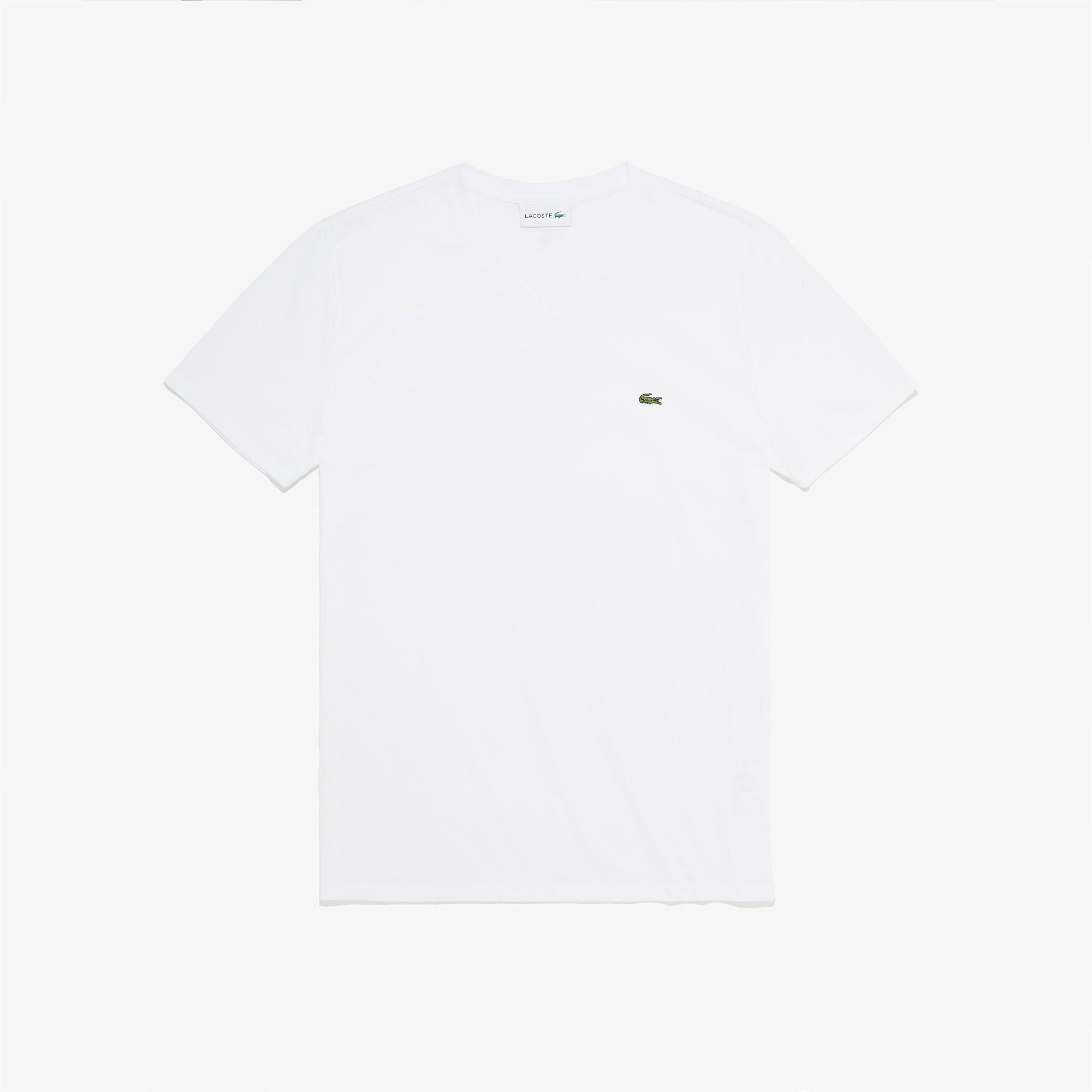 Men's V-neck Pima Cotton Jersey T-shirt