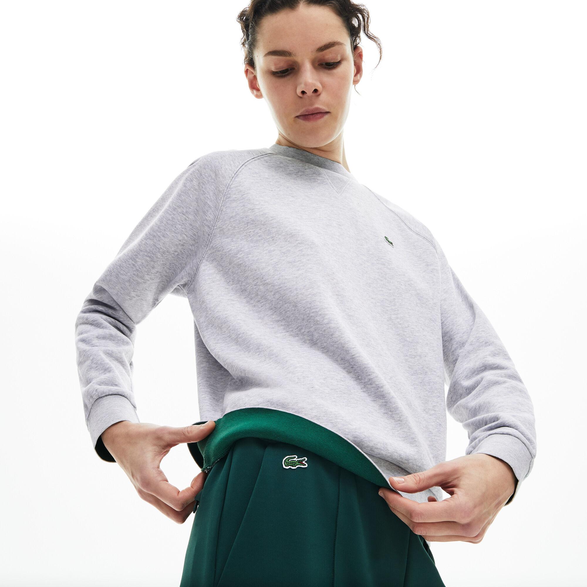 Women's Classic Crew Neck Fleece Sweatshirt