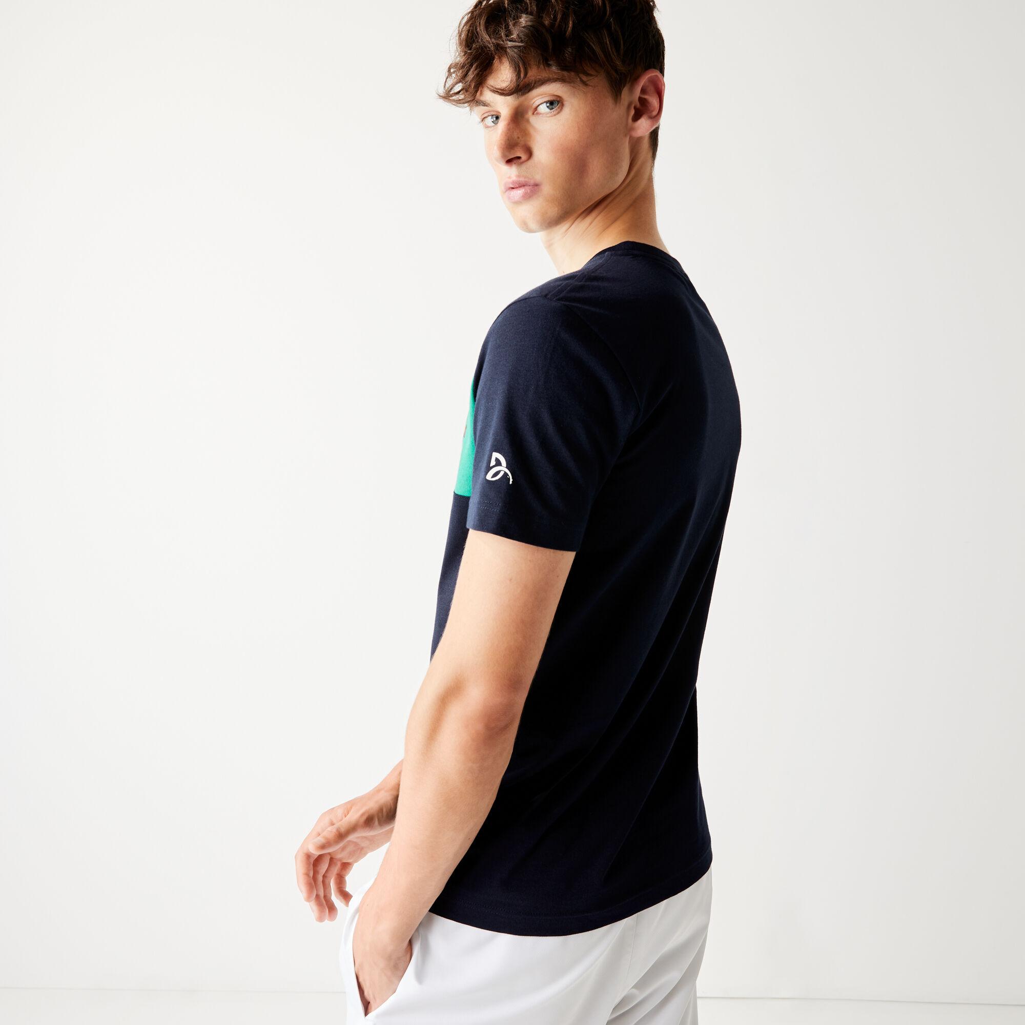 Men's Lacoste SPORT Collab Youssef SY Cotton T-shirt