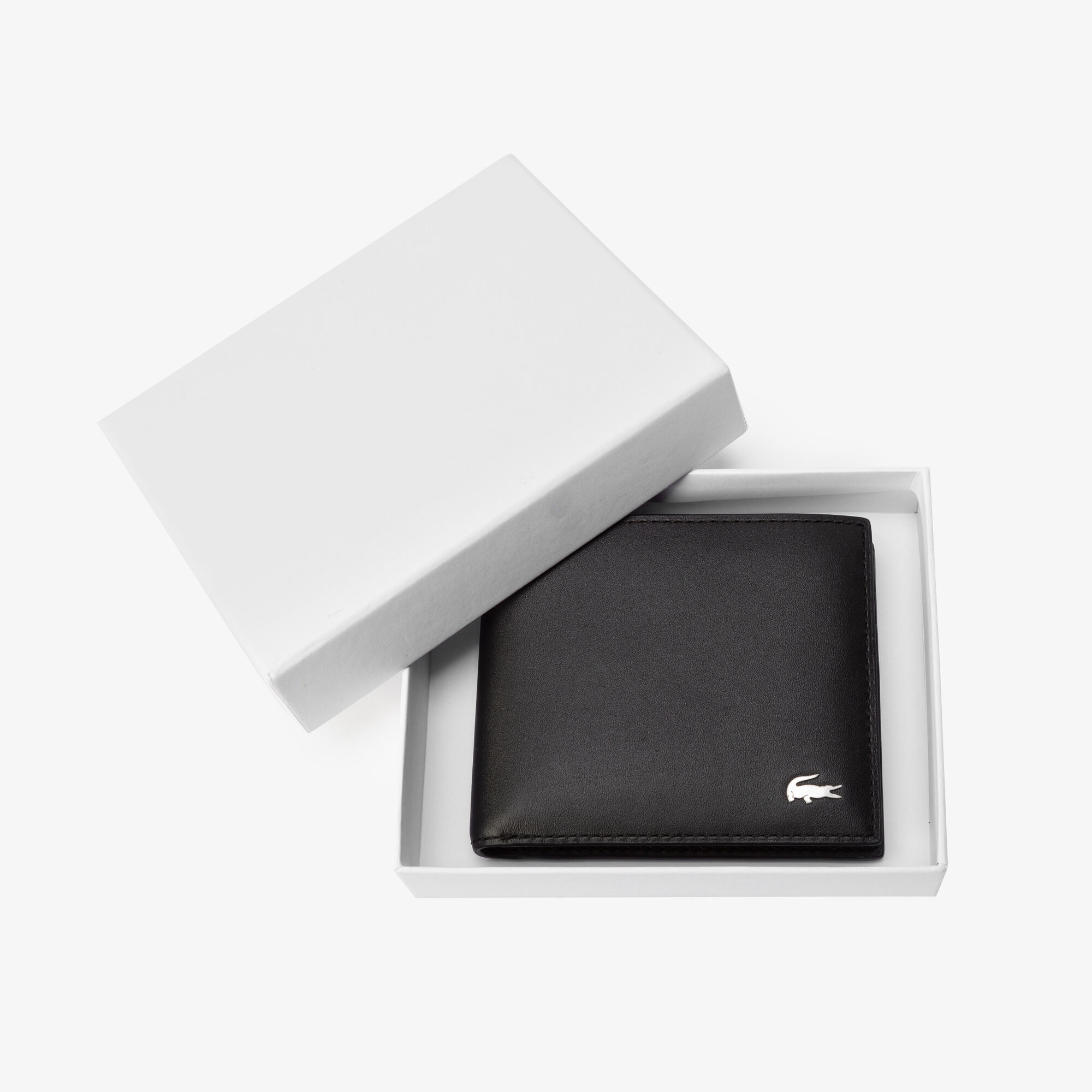 محفظة جلد للرجال ذو تسع فتحات للبطاقات من مجموعة Fitzgerald