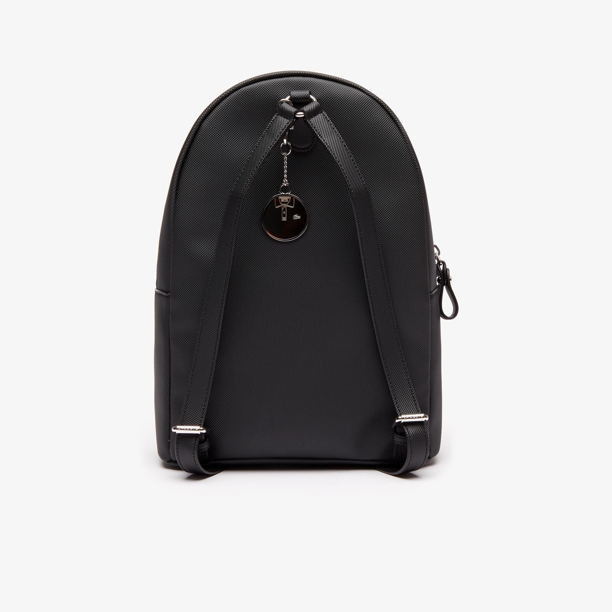 حقيبة ظهر من قماش البيكيه المغلف بالبلاستيك مجموعة Daily Classic للنساء