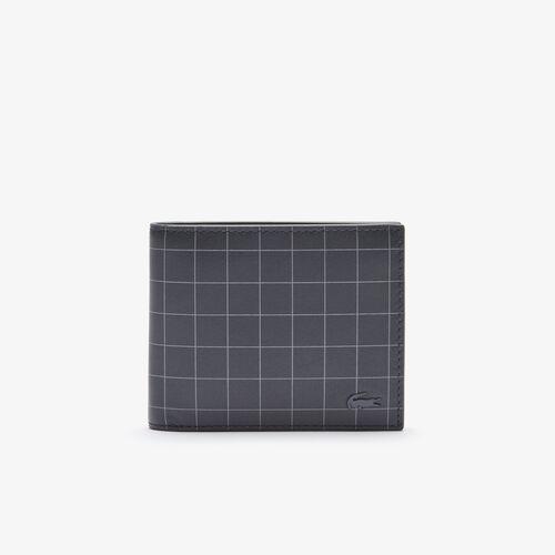 محفظة صغيرة من الجلد الكاروهات الناعم مجموعة Fitzgerald للرجال
