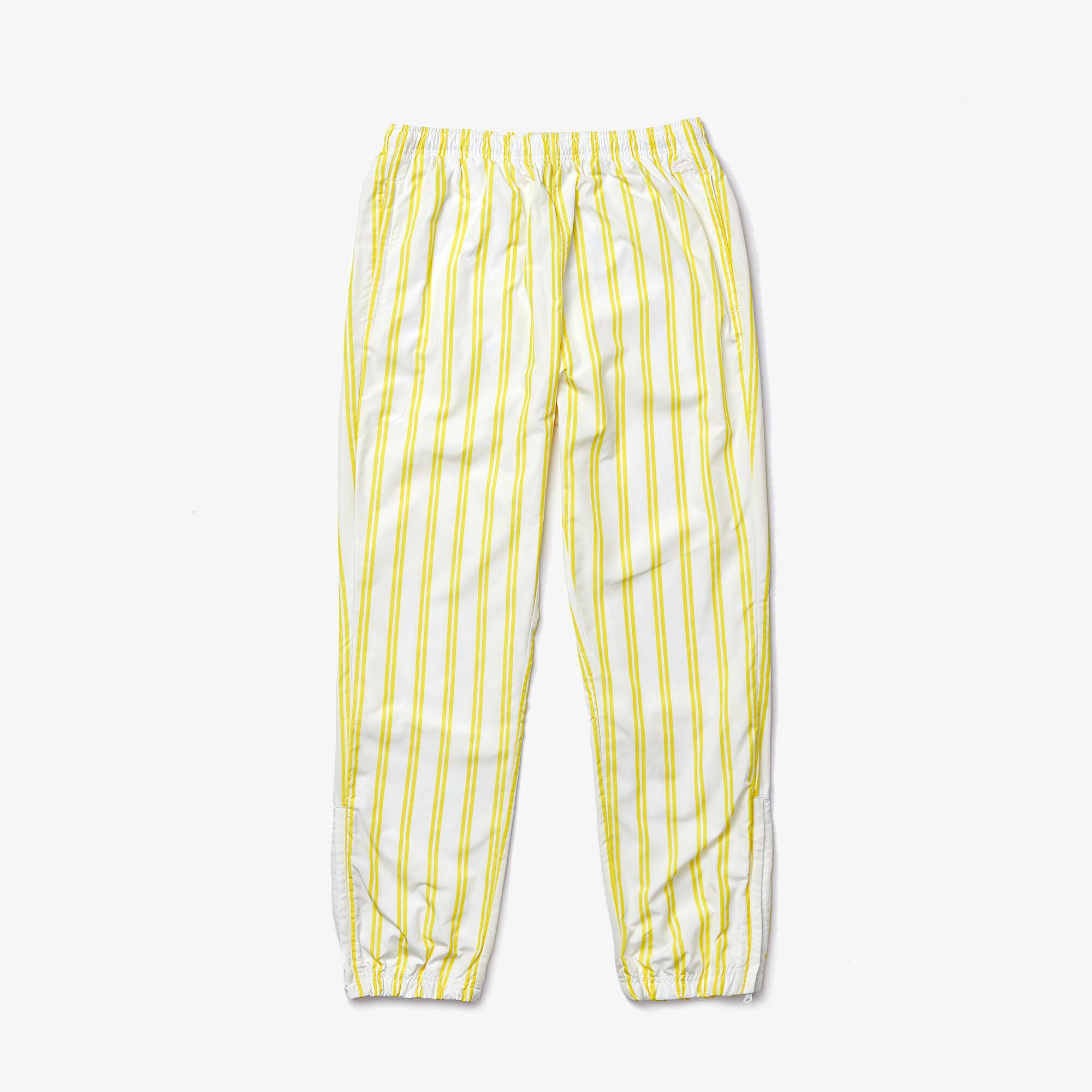 Unisex Lacoste LIVE Striped Tracksuit Pants