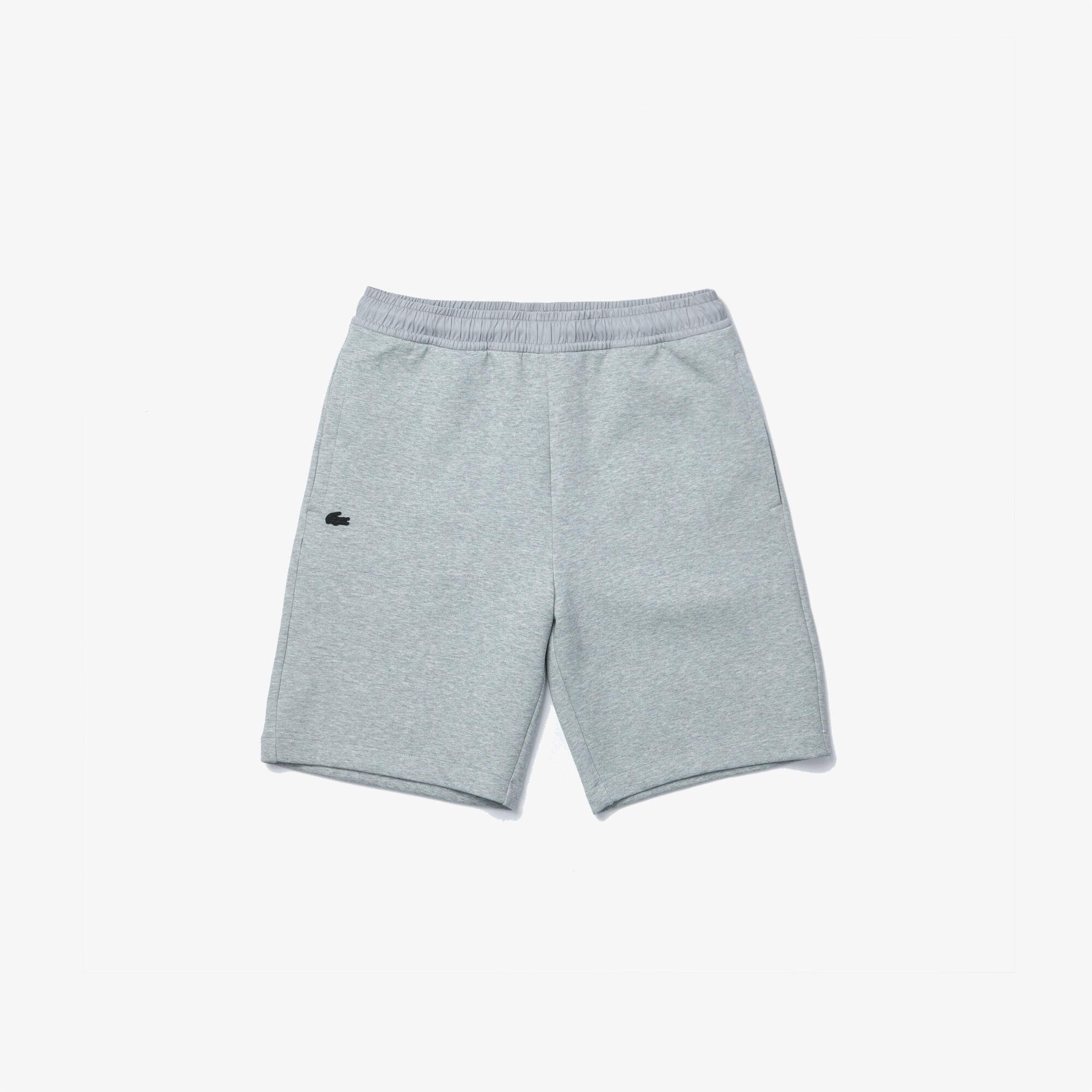 Men's Bimaterial Cotton Blend Shorts
