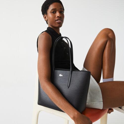 Women's Chantaco Piqué Leather Tote Bag