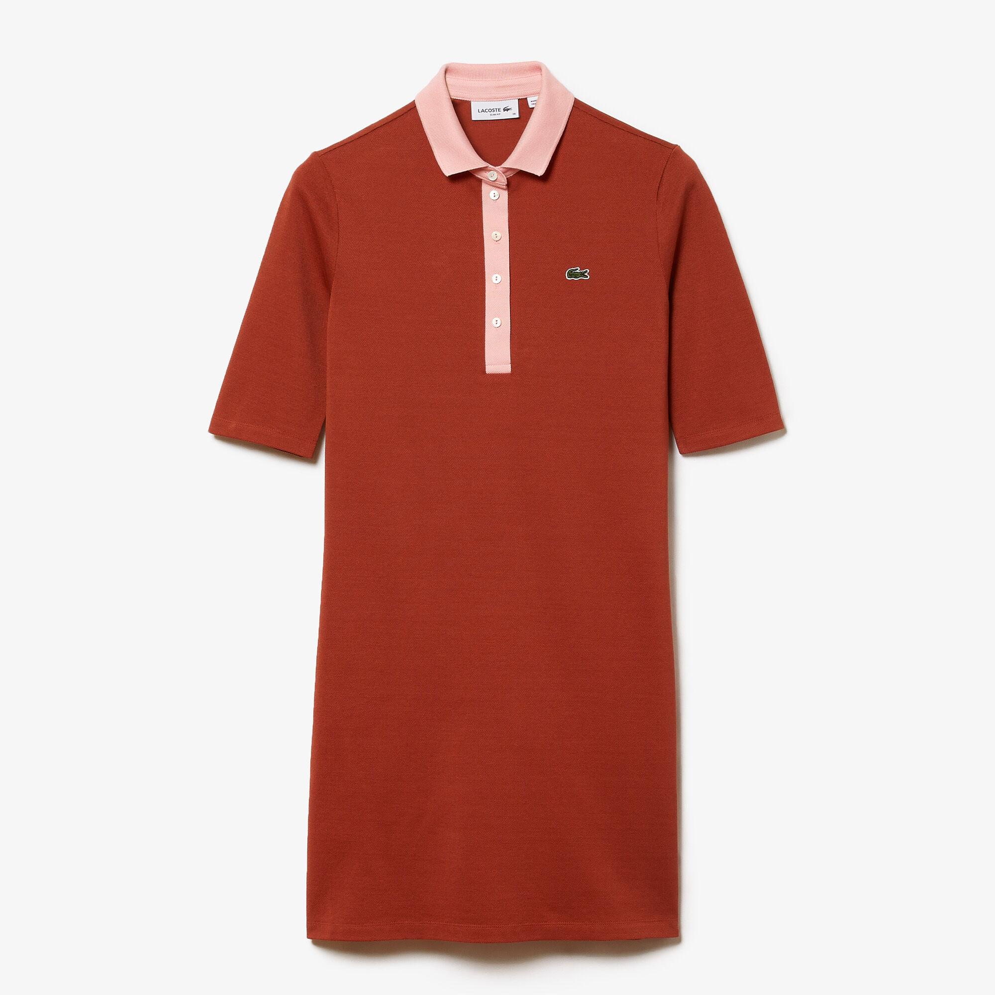 Women's Premium Cotton Piqué Polo Dress