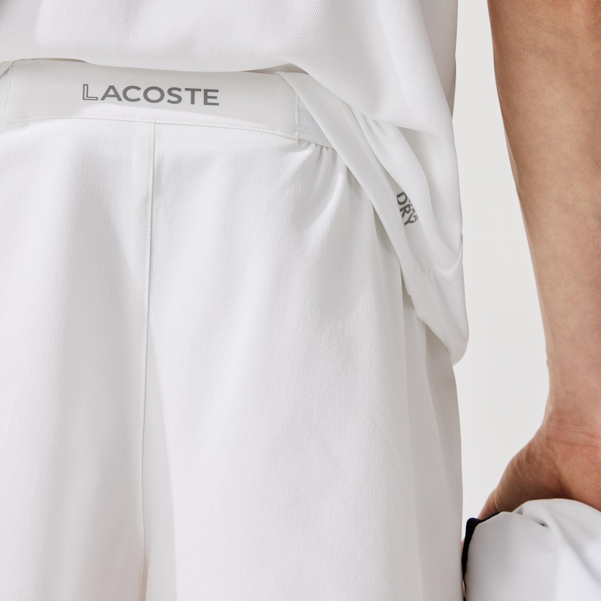 شورت تنس مرن مجموعة Lacoste SPORT للرجال