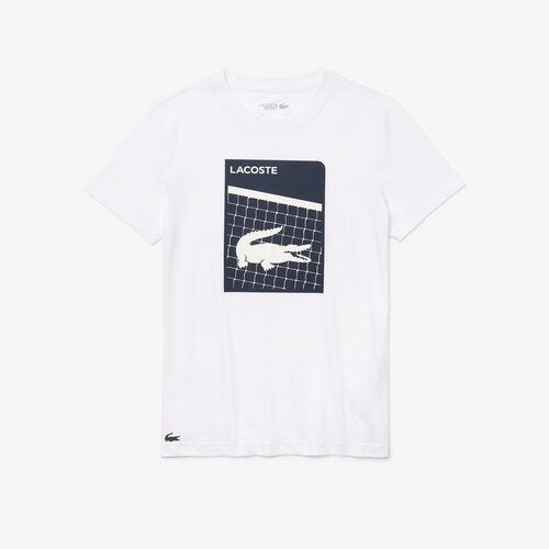 Men's Lacoste Sport 3d Print Breathable T-shirt