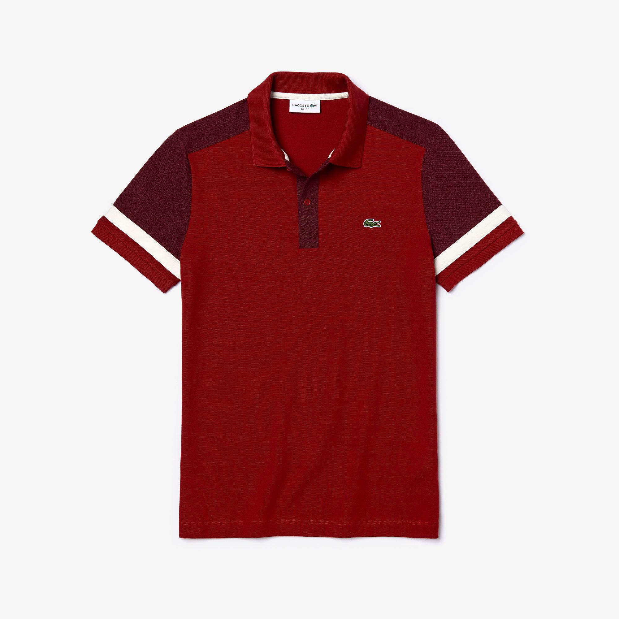 Men's Lacoste Slim Fit Stretch Cotton Piqué Polo Shirt