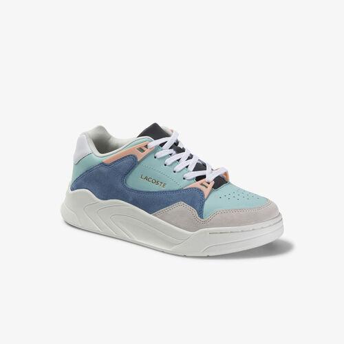 حذاء رياضي للسيدات من الجلد والشمواه من مجموعة Court Slam