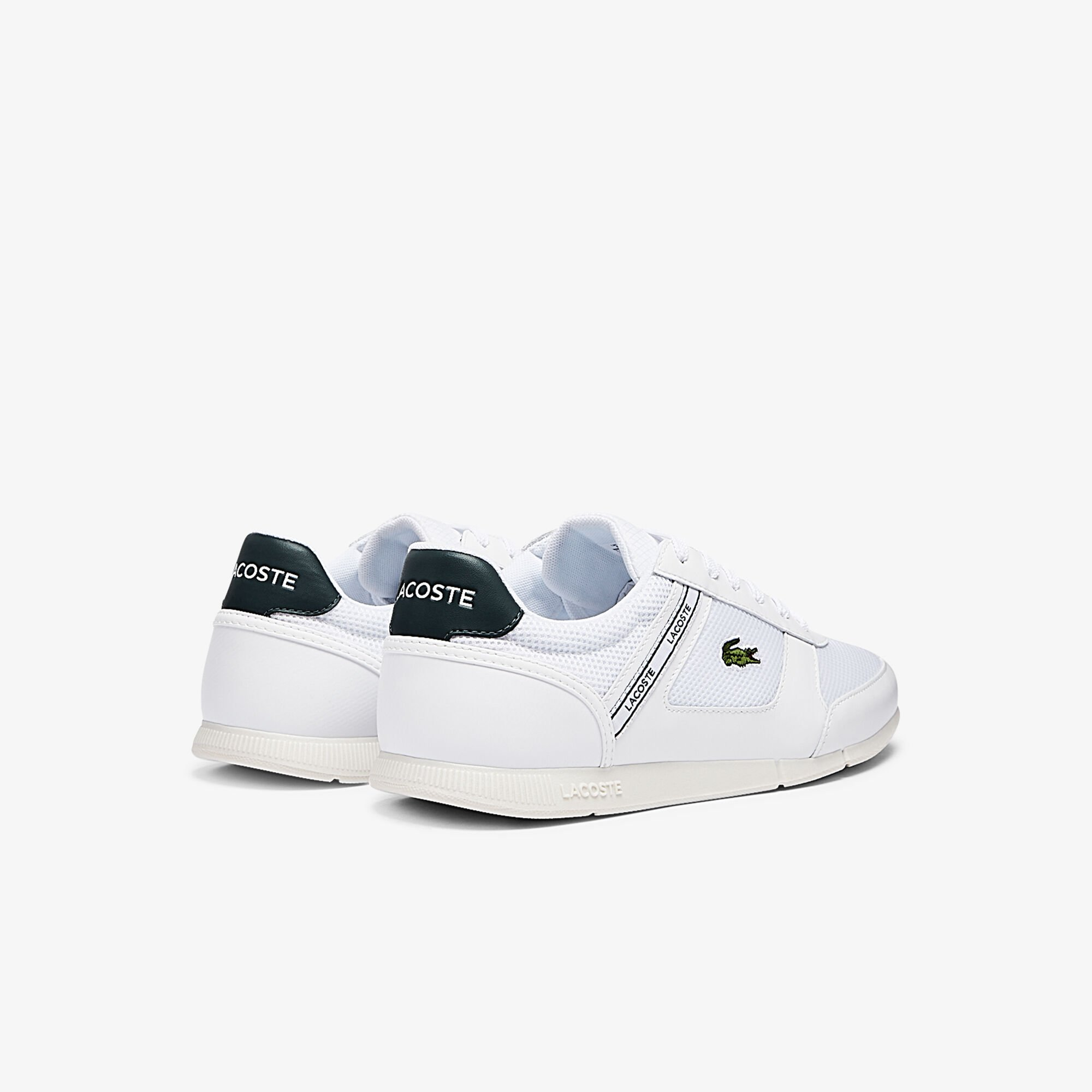 Men's Menerva Sport Textile and Leather Trainers